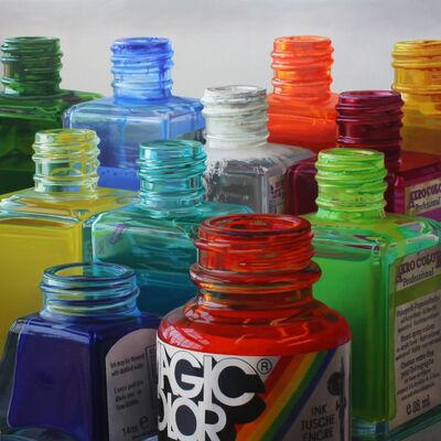 Javier Banegas, 'Colour Skyline'