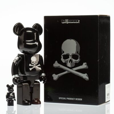 BE@RBRICK X mastermind JAPAN, 'Black and Silver 400% and 100% (two works)', 2013