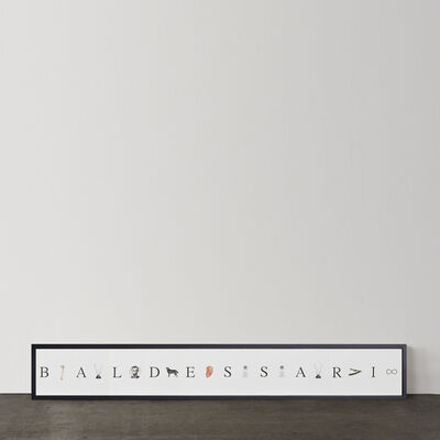 John Baldessari, 'Give me a B, give me an A ...& etc.', 2009
