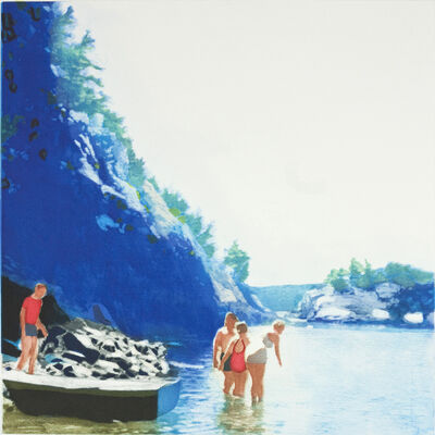 Isca Greenfield-Sanders, 'Mountain Stream', 2012