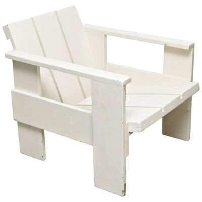 Gerrit Thomas Rietveld, ''Crate' Chair Metz & Co', ca. 1950