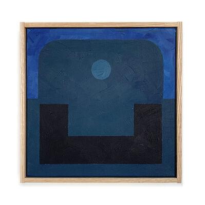 Carla Weeks, 'Monochrome Study in Blue 2', 2020