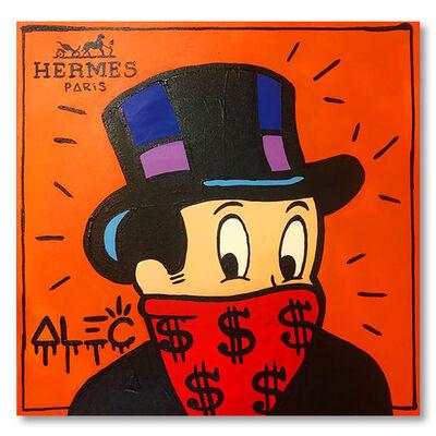 Alec Monopoly, 'Monop Hermes Portrait ', 2020