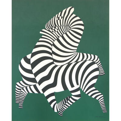 Victor Vasarely, 'Zepar', Conceived between 1940-1980; executed circa 1988