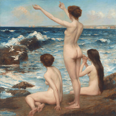Horace Middleton, 'Sirens', ca. 1910