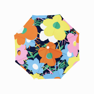 Joshua Jensen-Nagle, 'Yellow Floral Beach Umbrella', 2019