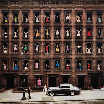 Ormond Gigli, 'Girls in the Windows, New York City', 1960