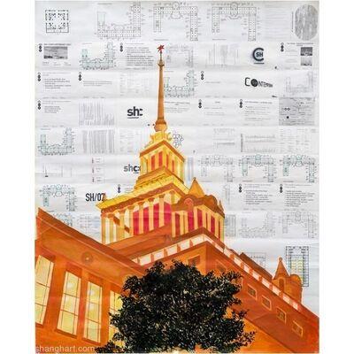 Zhou Tiehai, 'Shanghai Exhibition Center', 2007