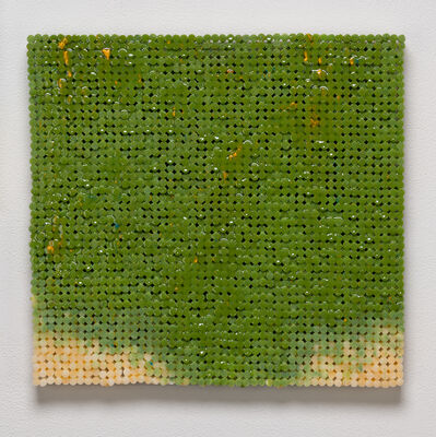 Sean Healy, 'Green Canvas', 2018-2019