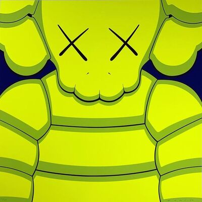 KAWS, 'What Party - Yellow', 2020