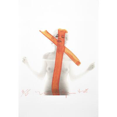 Bert Stern, 'Marilyn Monroe Crucifix', 2012