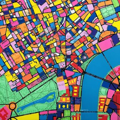Gordon Ross, 'Map of Central London', 2020
