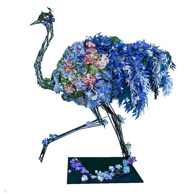Angelo Accardi, 'Blue Flower Ostrich ', 2020