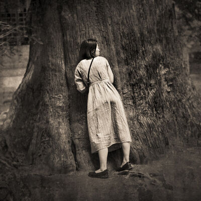 Keith Carter, 'Listening Tree', 2019