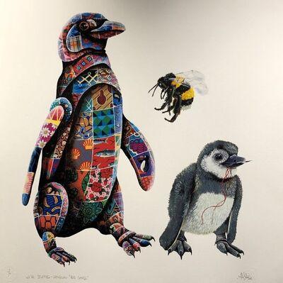 "Louis Masai, 'We're Stuffed ""Bee Cause""', 2018"