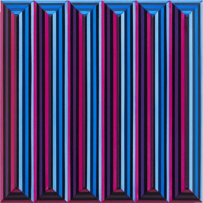 Roland Helmer, 'Umlaufende Linie, magenta', 2020