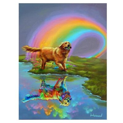 Jim Warren, 'Gold at the End of the Rainbow', 1990-2020