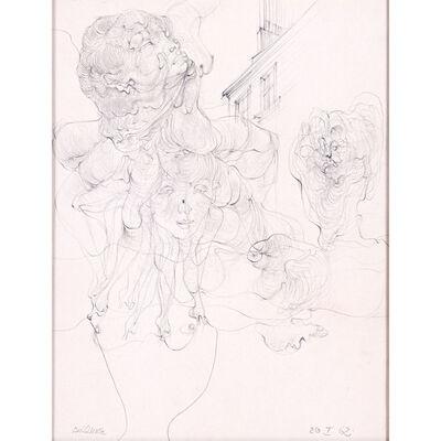 Hans Bellmer, 'Têtes, 20. I 62', 1962