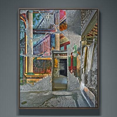 Robert Polidori, 'Peacock Room detail #1, Villa Poppea, Oplontis, Italia', 2017