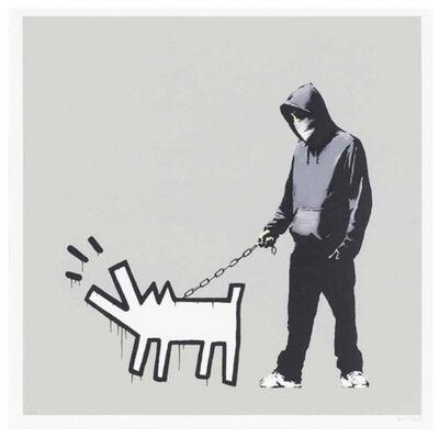 Banksy, 'Choose Your Weapon (Queue Jumper Grey)', 2010