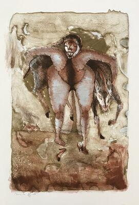 Francisco Toledo, 'Woman and Horses', 1984