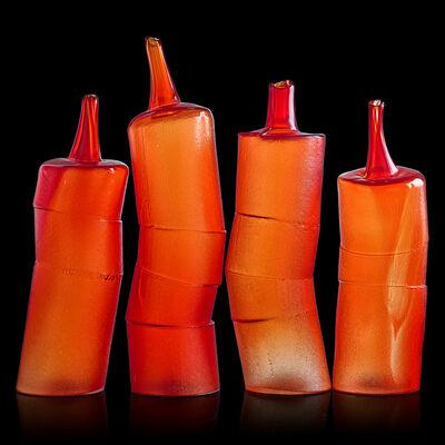 """Joel Philip Myers, 'Four-piece sculpture, """"Dialogue #32,"""" Normal, IL', 2001"""