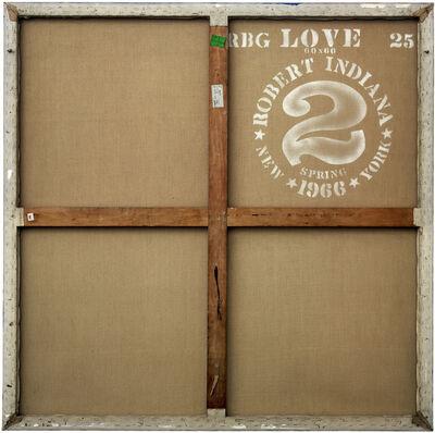 Philippe Gronon, 'Verso n°23, Love, par Robert Indiana, collection particulière en dépôt au Mamac, Nice', 2007
