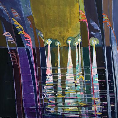 Charlotte Evans, 'Floodlight Reeds', 2016