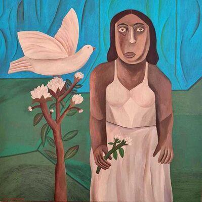 Salah Elmur, 'The White Dove', 2021