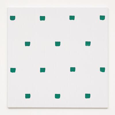 Niele Toroni, 'Empreintes de pinceau N°50 répétées à intervalles réguliers de 30 cm', 2005