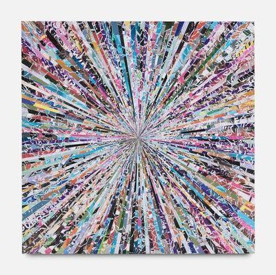 Benjamin Phillips, 'Chaotic Tendancies Original mixed media hand made bespoke wood panel signed', 2019