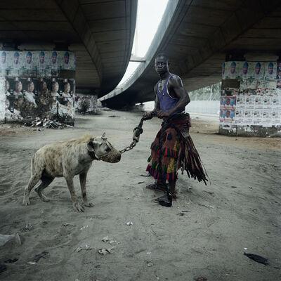 Pieter Hugo, 'Abdullahi Mohammed with Mainasara, Lagos, Nigeria', 2007
