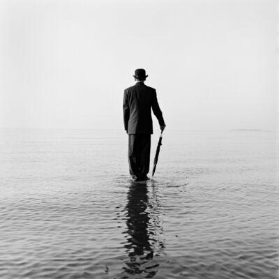 Rodney Smith, 'David Standing on Water No. 1, Sherwood Island, Connecticut', 1997