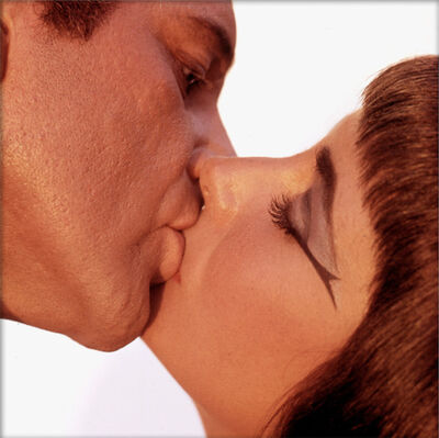 Bert Stern, 'Elizabeth Taylor & Richard Burton, The Kiss', 1962
