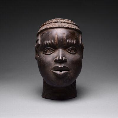 Unknown Benin, 'Benin Bronze Head', 1800 A.D. to 1900 A.D.