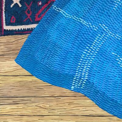 Anna Valdez, 'Blue Tapestry on Rug ', 2016