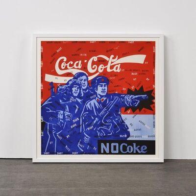 Wang Guangyi 王广义, 'Coca-Cola No Coke  (from Rhythmical Dichotomy portfolio)', 2007-2008