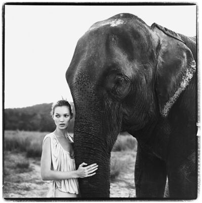 Arthur Elgort, 'Kate Moss, Nepal, VOGUE UK', 1994
