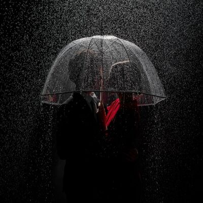 Tyler Shields, 'Under the Rain', 2018