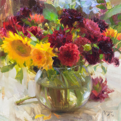 Daniel Keys, 'Bowl of Flowers'