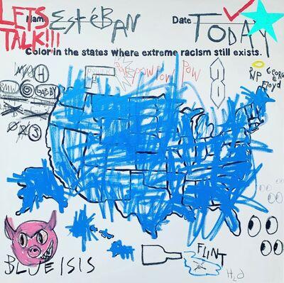 Esteban Whiteside, 'Racism, Where?', 2020