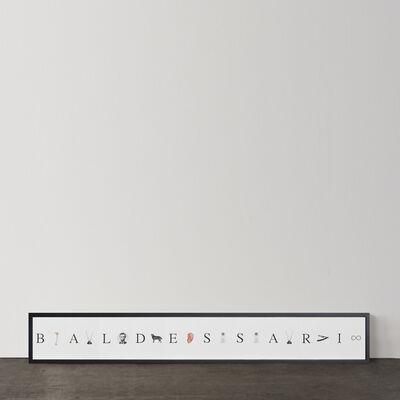 John Baldessari, 'Give me a B, give me an A ...,', 2009