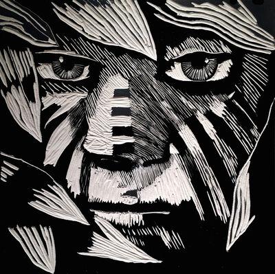 Frank Hyder, 'Frontier In Black +White No. 4', 2019