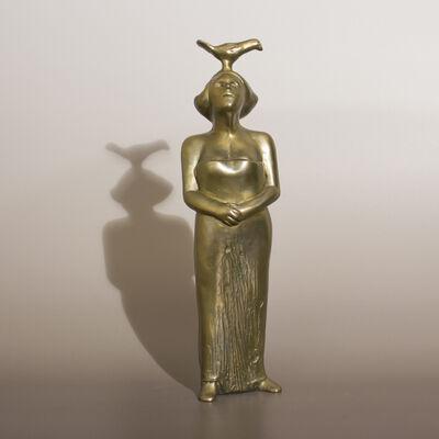 Siegfried Neuenhausen, 'Woman with Bird'
