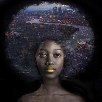 Yvonne Michiels, 'London by Night', 2017