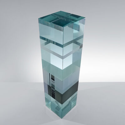 Jiří Karel, 'Glass Sculpture - Code Prism', 2019
