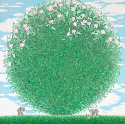 Lee Hae Kyung (b. 1957), 'Green Feeling_Love', 2013