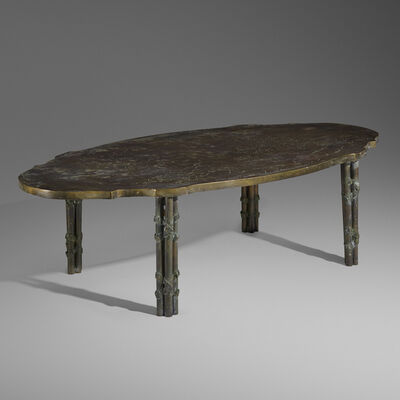 Philip and Kelvin LaVerne, 'Chan Boucher coffee table', c. 1965