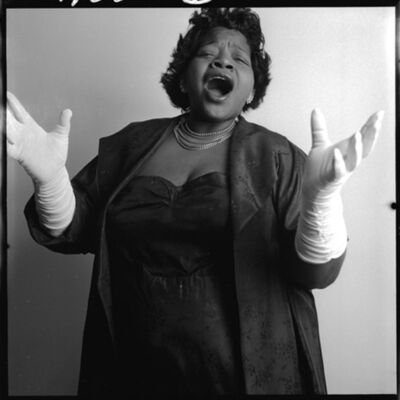 Bert Stern, 'Big Maybelle', 1958