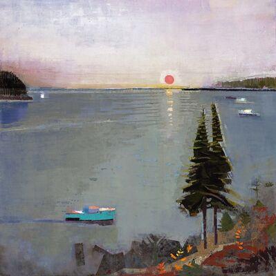 John Evans, 'NE Harbor', 2016